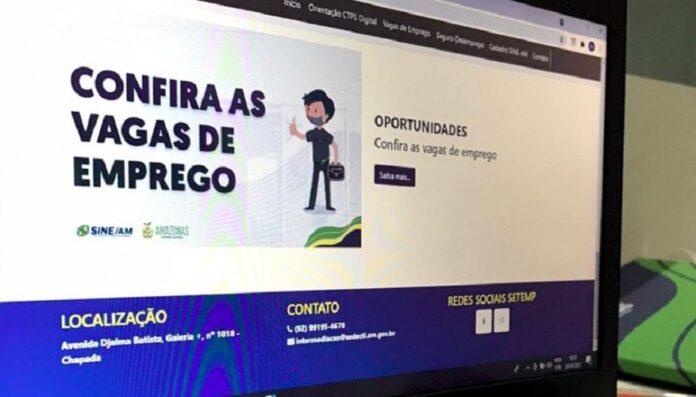 """Governo do Amazonas lança """"Portal do Trabalhador"""" nesta sexta-feira (30) com diversas vagas de emprego"""
